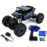 Smiley India 1:18 Scale 4WD Rock Monster Crawler Truck Die-Cast Car Toy With Kinsmart Pull Back Action (Available In Multiple Colours)