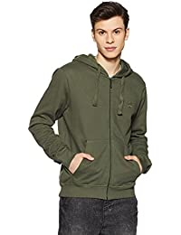 United Colors of Benetton Men's Cotton Sweatshirt (17A3S44J8002I903L_Green_L)