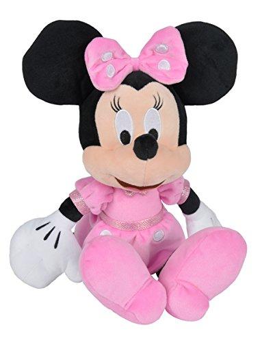 Simba 6315874847 - Disney Plüschfigur, Minnie, 35 cm (Mickey Lädt Mouse)