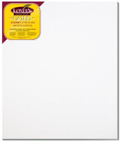 Loxley Gold LCC-3630 - Lienzo preestirado, color blanco