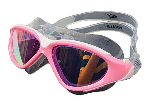 Anti-Fog-Schutzbrille-große Rahmen-Galvanischer Überzug Schwimmbrillen-P