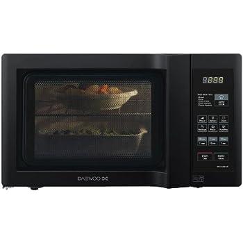 Daewoo KOR6L6BDBK 20Lt 800w Duo-Plate Digital Microwave, Black ...