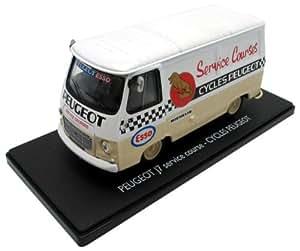 Eligor - 101254 - Véhicule Miniature - Peugeot J7 Service Course - Peugeot Esso - Echelle Echelle 1/43