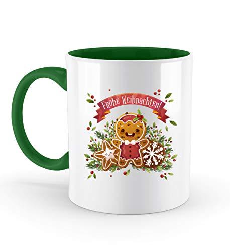PlimPlom Frohe Weihnachten Tasse Teetasse Design Kaffeetasse Spaßgeschenk Spruch Geschenk Idee -...