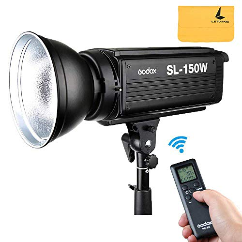 Godox SL-150W 5600K LED-Videoleuchte-Studio Weiß Version LCD Panel Kontinuierliche Ausgabe Bowens Mount Studio Licht Wireless-digital-video-recording-system