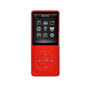 AGPTek A02 8GB MP3 Musik Player 70 Stunden Wiedergabe