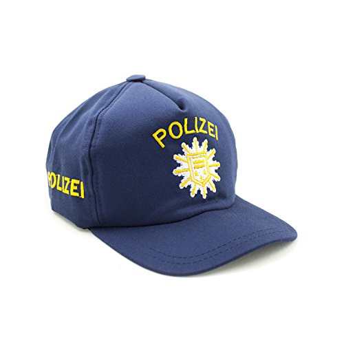 Kid's Shirt Polizei Basecap blau