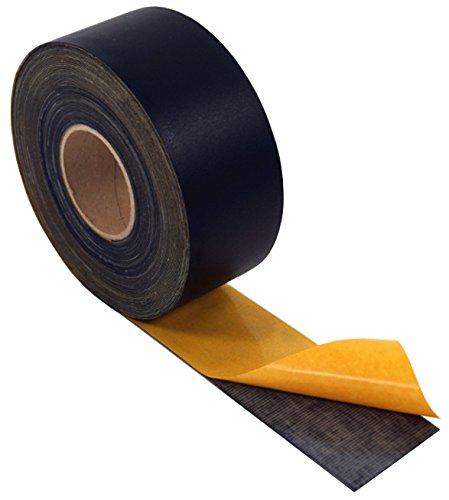 Self-Flex EPDM Fugenband, selbstklebend, Fassadenprofile, Fugenband, EPDM Schwarz, selbstklebend 70mm x 25m, schwarz, Dichtung, Dichtungsband, Dichtband, Fassade (70mm)