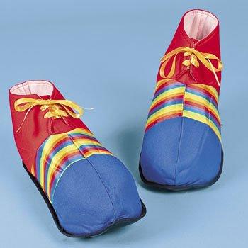 Fun Express Jumbo Clown Shoes - Costumes & Accessories & Props & Kits