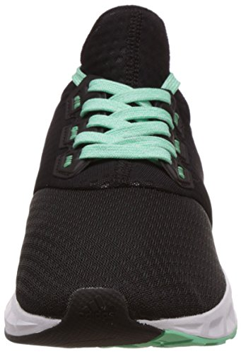 adidas Falcon Elite 5 W, Scarpe da Corsa Donna Multicolore (Negro / Verde (Negbas / Negbas / Briver))