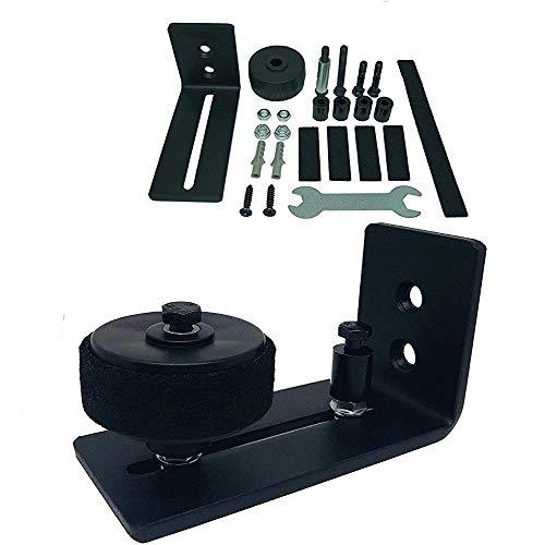 Schiebetürsystem Set,kuaetily Schiebetürbeschlag Set Geeignet für alle Schiebetür Holztüre