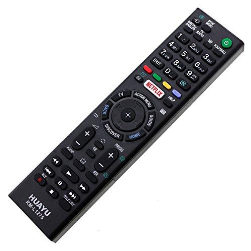 Ersatz Fernbedienung passend für Sony LED LCD 3D TV KDL50W805C KDL50W807C Netflix Remote mit One-to-One PreProgrammed Connection - Easy Start Funktion ohne lästige Installation