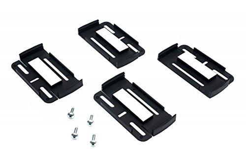 151110501 - 2x Simple Fix Universal Nummernschildhalter Schwarz - 2
