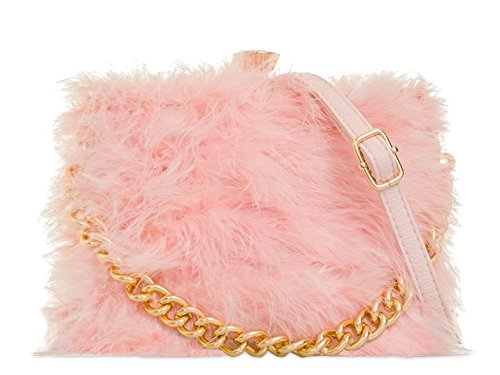Hautefordiva, Damen Clutch Rose S Rose