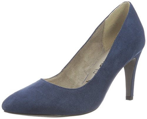 Tamaris Damen 22473 Pumps, Blau (Navy), 36 EU