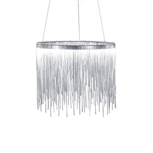 RUIYK Moderne Quaste Kronleuchter, kreative LED Kunst Wohnzimmer Esszimmer Kronleuchter Mode Bar Lampe, industrielle Deckenleuchte Vintage Kronleuchter Metall Kronleuchter Home Beleuchtung