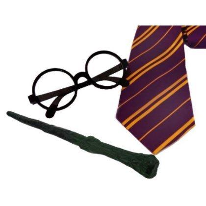 2-juegos-de-accesorios-para-disfraz-de-mago-corbata-gafas-varita-de-plstico