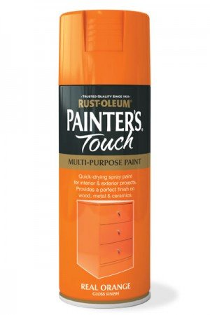 rust-oleum-painters-touch-multi-purpose-aerosol-spray-paint-400ml-real-orange-gloss-2-pack