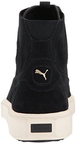 PUMA Men s Breaker Hi Sneaker  Black-Whisper White  7 5 M US