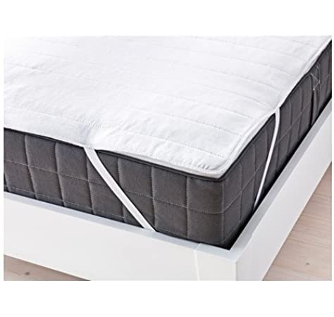 Coprimaterasso Impermeabile Matrimoniale Ikea.Ikea Angsvide Coprimaterasso Matrimoniale 190 Cm X 135 Cm Amazon It Casa E Cucina