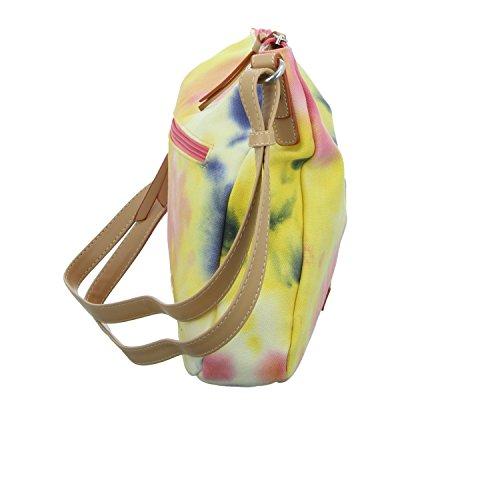 Tom Tailor 300227-99 Damen Reißverschlusstasche Gelb (Gelb)