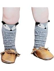 Generic Kleinkinder Mädchen Junge Fuchs Muster Kniestrümpfe Socken