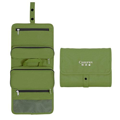 sacchetto della lavata staccabile idrorepellente/All'aperto borse di lavaggio di viaggio/Toiletries bag-Erba verde 5L Erba verde