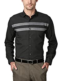 Van Heusen Men's Slim Fit Shirt_ VDSF515E06614_38_ Grey