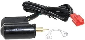 E Choke Kaltstarter 7mm Zylinderstift Mit Sicherungsblech Für 4 Takt Roller Rex Aprilia Yamaha Peugeot Cpi Auto