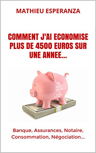 COMMENT J'AI ECONOMISE PLUS DE 4500 EUROS SUR UNE ANNEE...: Banque, Assurances, Notaire, Consommation, Négociation...