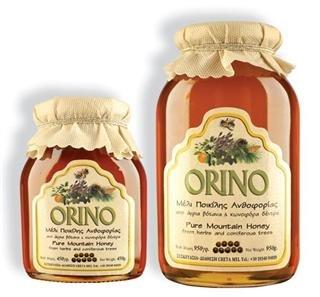 Orino Honig mit Wildkräutern & Pinien 450g