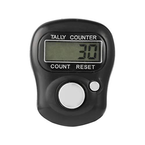ForceSthrength Mini 5-stellige LCD elektronische Digitale Finger Handringzähler -