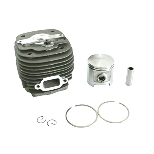 Generic 58 Mm Zylinder & Kolben & Pin & Clips und Ringe Kit Set fit Stihl 070 Motorsäge -
