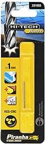 Piranha X51003-QZ Foret bullet Hi Tech métal diamètre 1 mm