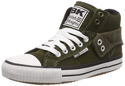 British Knights Unisex-Erwachsene ROCO Hohe Sneaker, Grün (Khaki 5), 44 EU