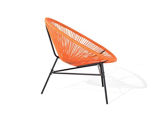 D&D Handel GmbH Designer Acapulco Chair Orange Retro