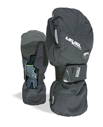 Pipe Snowboard Handschuhe (Level Herren Half Pipe Mitt Gore-Tex Handschuhe, Black, 10)