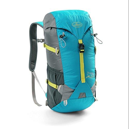 sac à dos randonnée Les hommes et les femmes en plein air sac à bandoulière randonnée sac à dos sac de Voyage 40l Sacs à dos de randonnée ( Couleur : Bleu , taille : 40L )