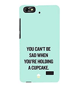EPICCASE Have a cupcake Mobile Back Case Cover For Huawei Honor 4C (Designer Case)