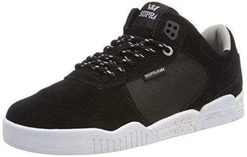 Zapatos Supra Skytop Negro-Blanco-Rojo (Eu 42.5 / Us 9 , Negro)