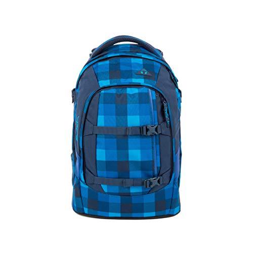 satch Pack Skytwist, ergonomischer Schulrucksack, 30 Liter, Organisationstalent, Blau
