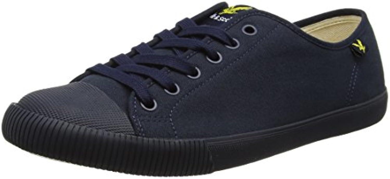 Lyle  Scott Herren Tima Canvas Sneaker  Blau