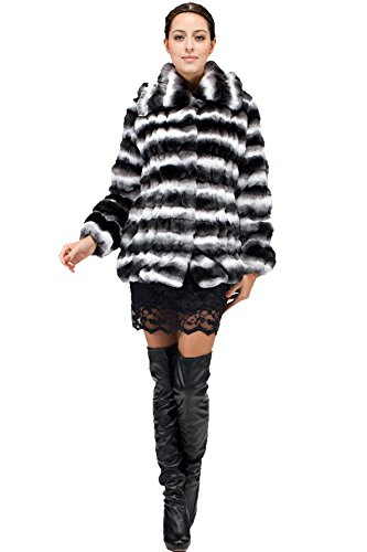 adelaqueen-womens-lapel-faux-chinchilla-fur-jacket-white-and-black-size-xxl