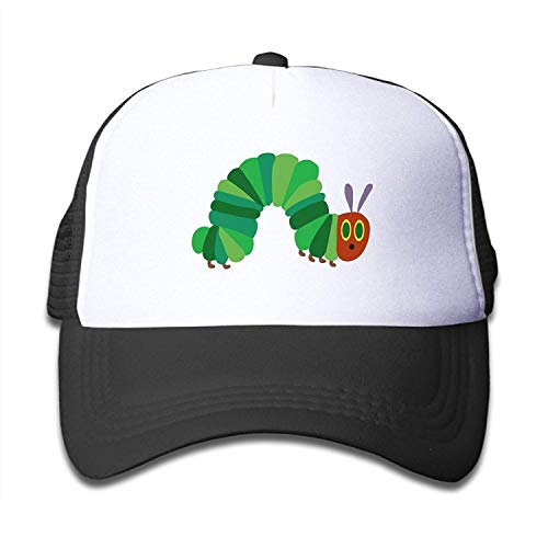 Zhgrong The Very Hungry Caterpillar Trucker Hat Adjustable Back Mesh Cap for Kid ny Cap -