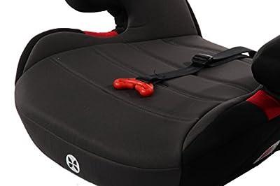 Kindersitzerhöhung mit Gurtfix, Gruppe 2/3 (3-12 Jahre), Babyblume BOOST Gurtfix