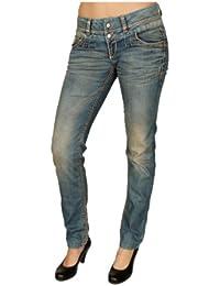 Cipo & Baxx Damen Jeans CBW-347 Slim-Fit