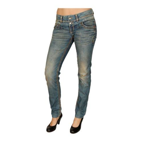 Damen Jeans Hose Jeansblau