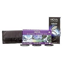 Hoya DFK49 Jeux de Filtres (UV, PLC, ND) Ø 49.0 mm