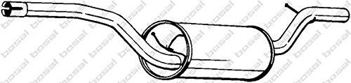 Preisvergleich Produktbild Bosal 280-421 Mittelschalldämpfer