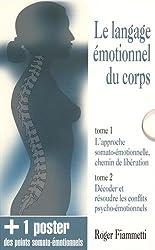 Le langage émotionnel du corps : Coffret en 2 volumes + un poster des points somato-émotionnels